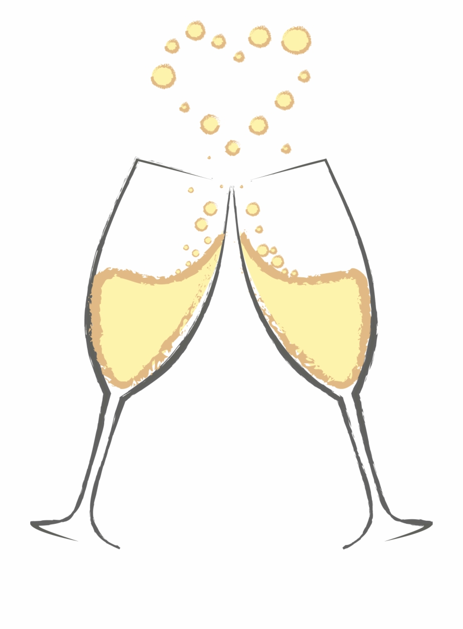Fish in the shape of a wine glass clipart jpg download Svg Library Stock Free Clipart Champagne Glasses - Cheers Wine ... jpg download
