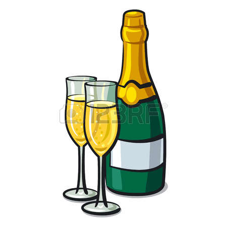 Champagne bottle and glasses clipart png freeuse library Champagne Bottle Cliparts | Free download best Champagne Bottle ... png freeuse library