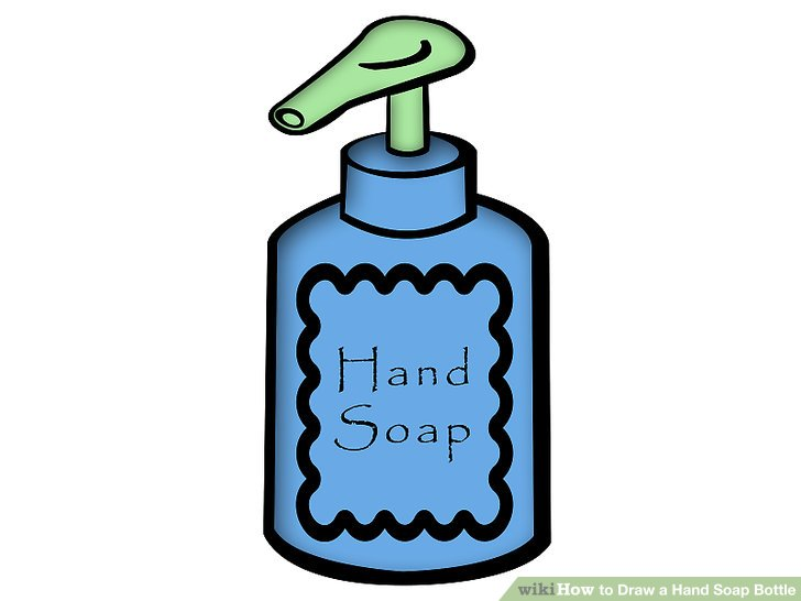 Bottle of soap clipart banner How to Draw a Hand Soap Bottle: 4 Steps (with Pictures) - wikiHow banner