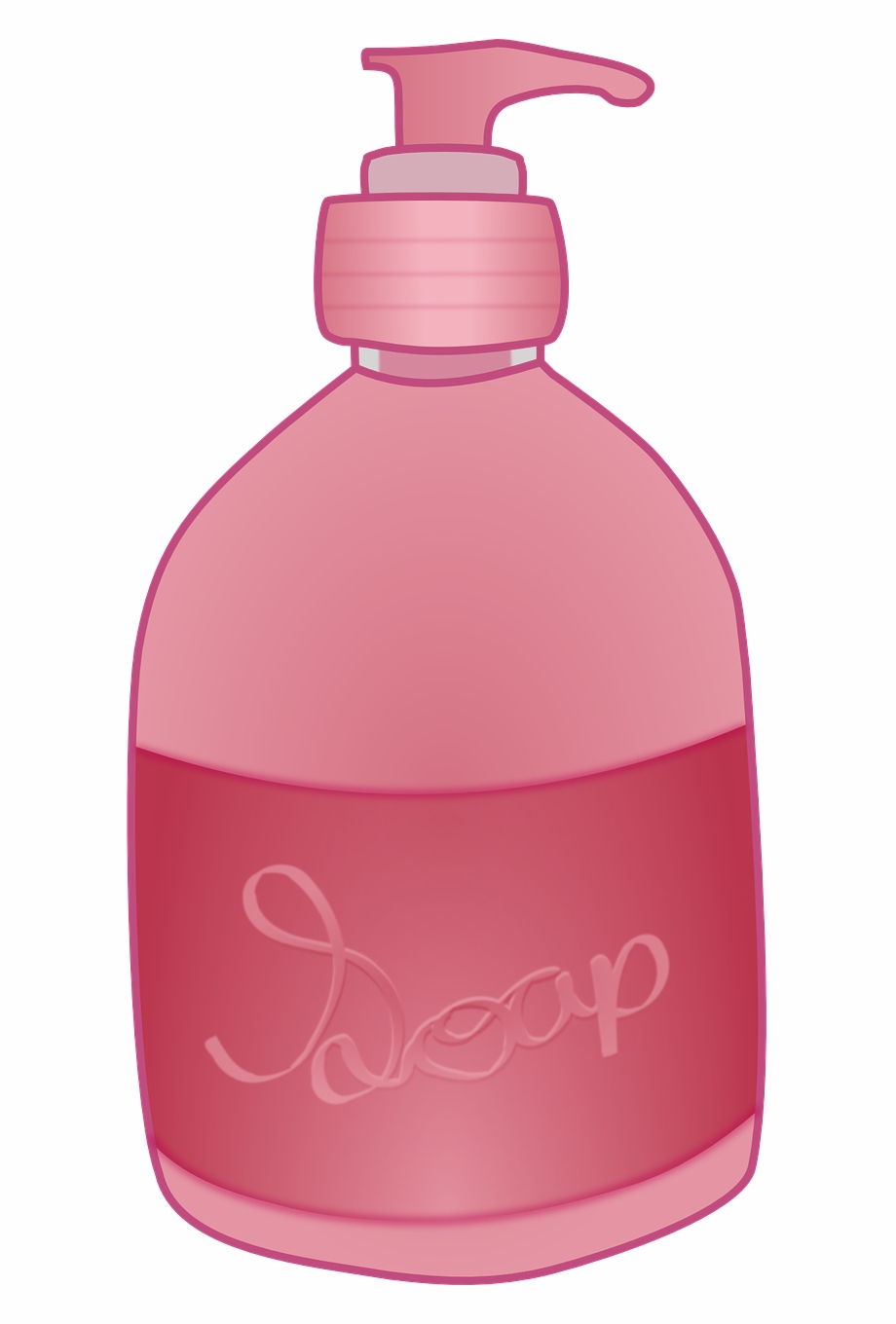 Bottle of soap clipart graphic free download Soap Bottle Hand Pump Wash Png Image - Hand Soap Png Clipart ... graphic free download