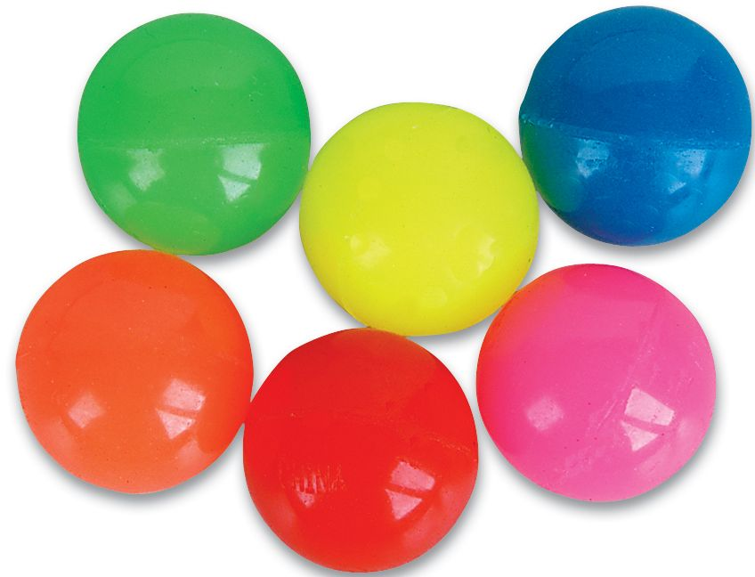 Bounce colorful clipart free stock 45mm Solid Color Super Bouncy Ball free stock