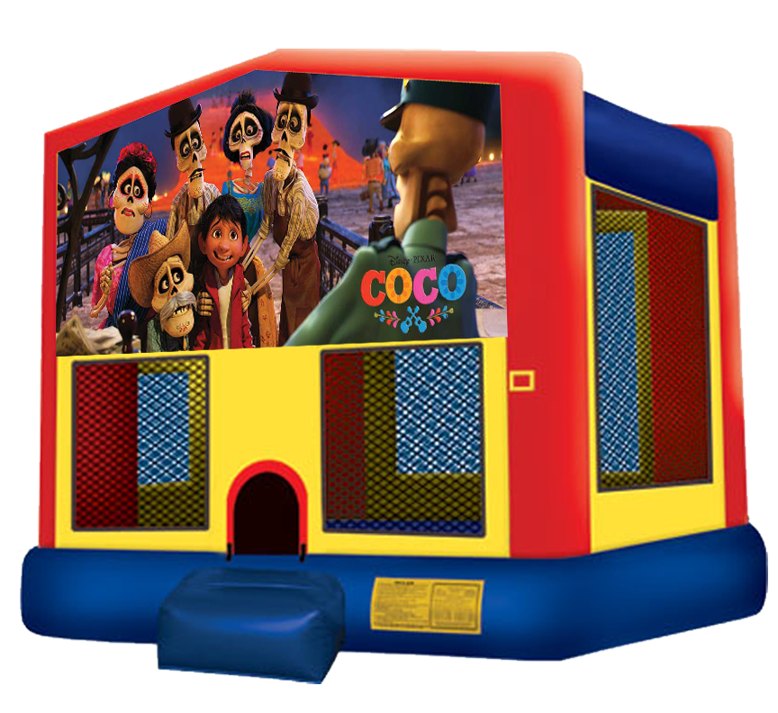 Bounce house castle clipart clip art library download Coco Bounce House Rentals in Austin Texas from Austin Bounce House ... clip art library download