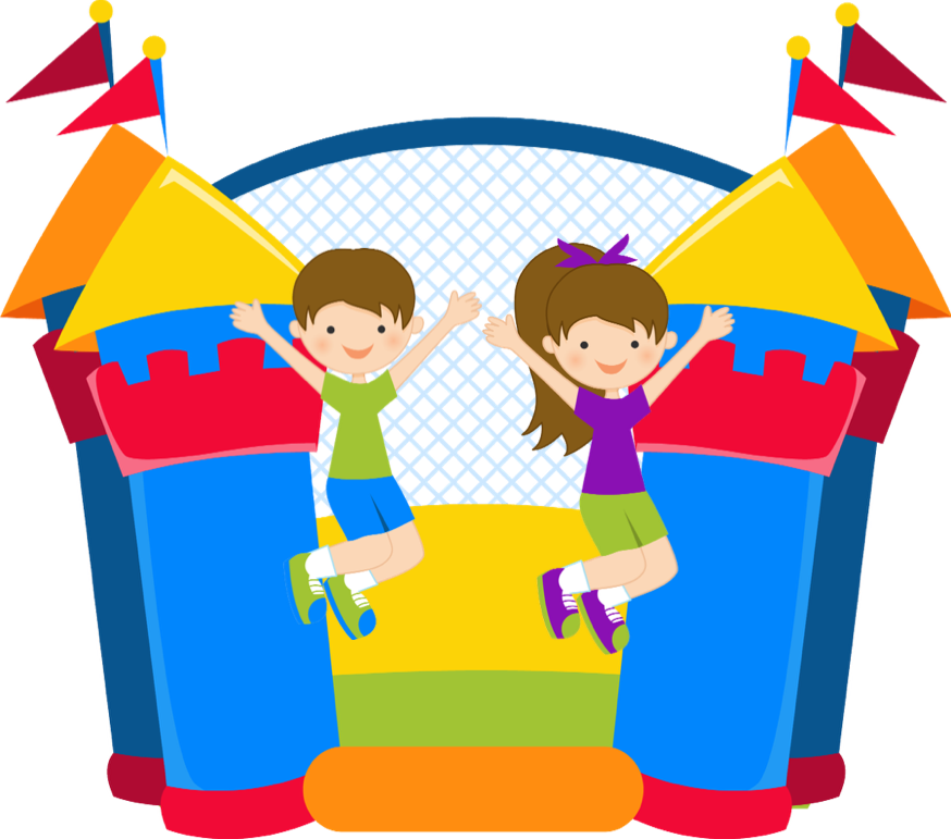 Bounce house castle clipart royalty free stock Bounce house castle clipart royalty free stock