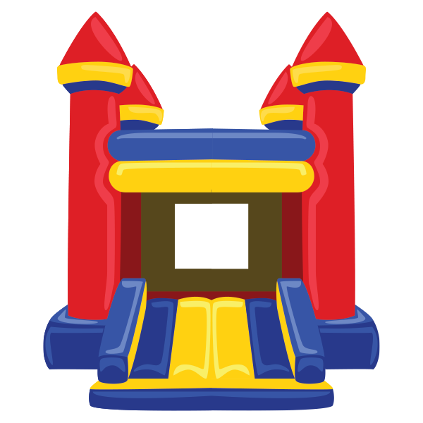 Bounce house castle clipart png free 28+ Collection of Bounce House Clipart | High quality, free cliparts ... png free