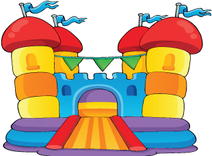 Bouncing castle clipart clip black and white library Bouncy Castle Clipart | Free download best Bouncy Castle Clipart on ... clip black and white library