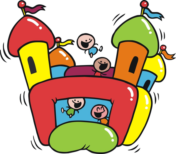 Bouncing castle clipart banner stock Clipart Bouncy Castle | Free Images at Clker.com - vector clip art ... banner stock