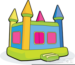 Bouncing castle clipart graphic free library Free Clipart Of Bouncy Castles | Free Images at Clker.com - vector ... graphic free library