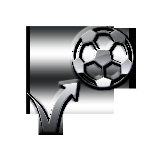 Bouncing soccer ball clipart clip art Bouncing Soccer Ball Icon #044588 » Icons Etc clip art
