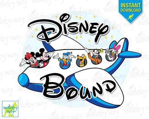 Disney bound clipart jpg free library Disney Bound Mickey Airplane Printable Iron On Transfer or Use as ... jpg free library
