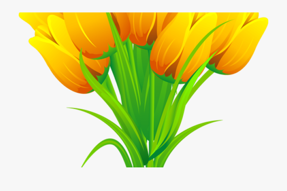 Bouqet of yellow tulips png clipart vector free clip freeuse stock Yellow Tulip Clipart Free Download Best Yellow Tulip - Clipart ... clip freeuse stock
