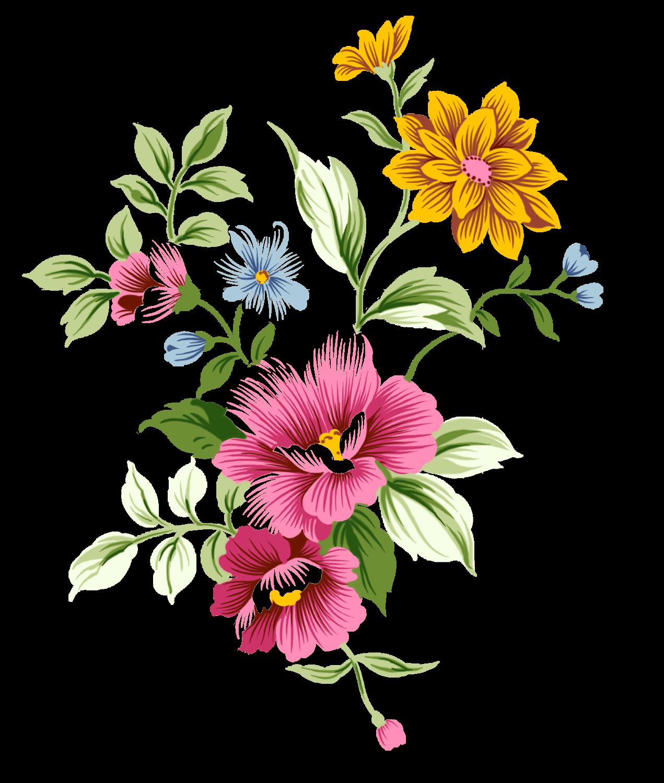Bouquet of flower clipart clip library Art Nouveau Bouquet Flowers transparent PNG - StickPNG clip library
