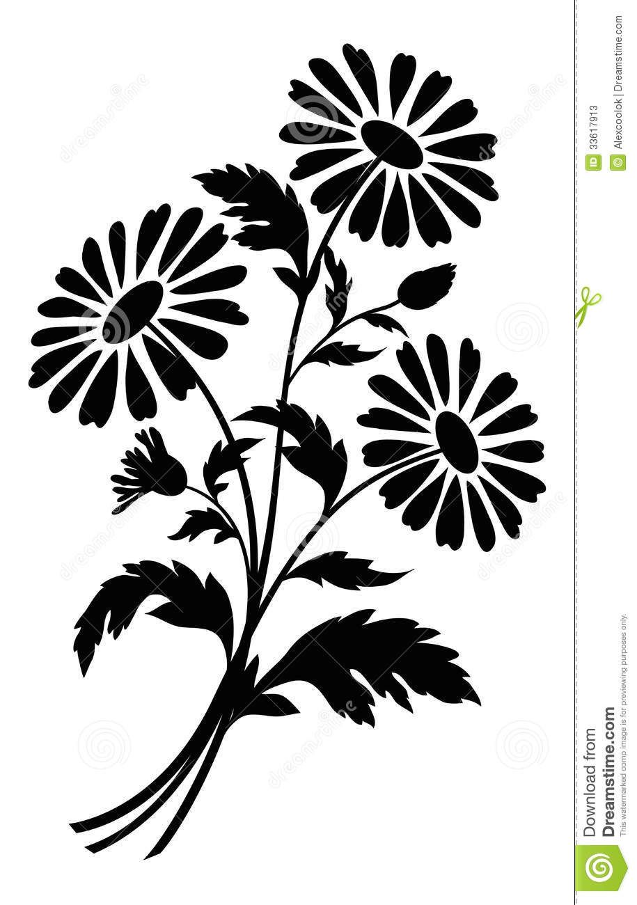Bouquet of flowers clipart black and white png free stock Flowers For > Black And White Flower Bouquet Clipart | Paper Images5 ... png free stock