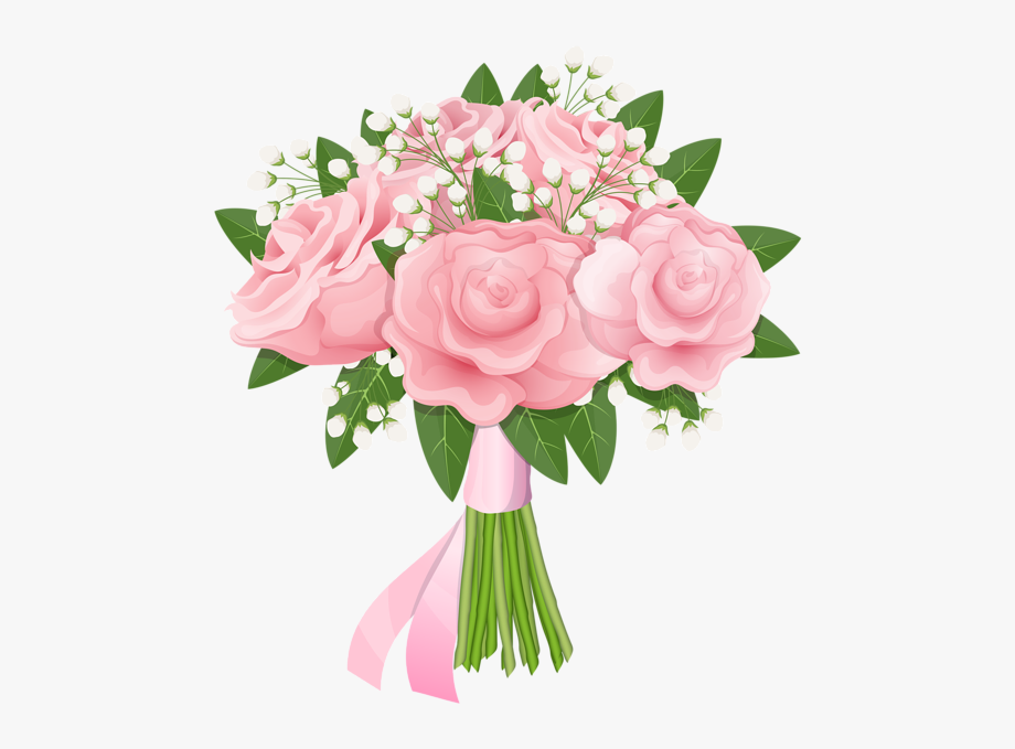 Bouquet roses clipart image freeuse library Bouquet Of Roses Clipart - Clipart Pink Bouquet Roses Transparent ... image freeuse library