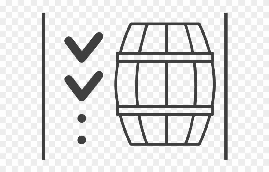 Bourbon barrel clipart graphic black and white Barrel Clipart Bourbon Barrel - Beer Garden Pub Klaipeda - Png ... graphic black and white