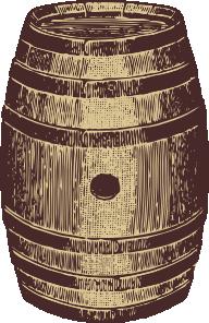 Bourbon barrel clipart clip stock Wooden Barrel Clip Art at Clker.com - vector clip art online ... clip stock