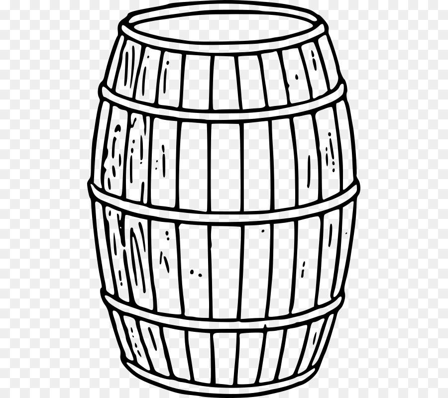 Bourbon barrel clipart graphic free Barrel Line Art png download - 549*800 - Free Transparent Barrel png ... graphic free