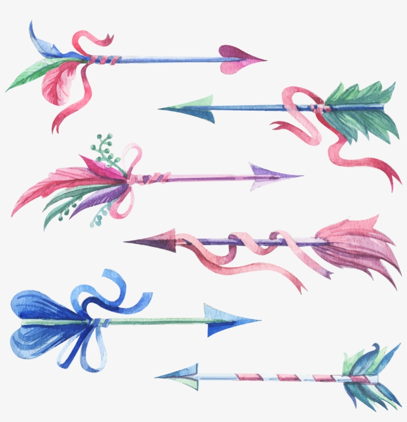 Bow and arrow boho baby blue clipart jpg transparent Boho Bohemian Feather Feathers Arrow Arrows Freetoedit - Blue ... jpg transparent
