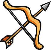 Bow and arrow images clip art svg transparent Bow And Arrow Clip Art & Bow And Arrow Clip Art Clip Art Images ... svg transparent