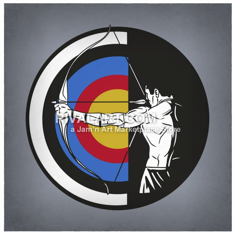 Clipartfest vector of archery. Bow and arrow target clipart