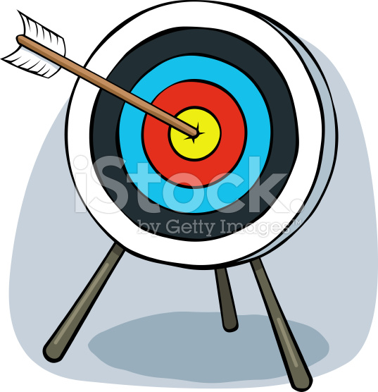 Clip art clipartfest cartoon. Bow and arrow target clipart