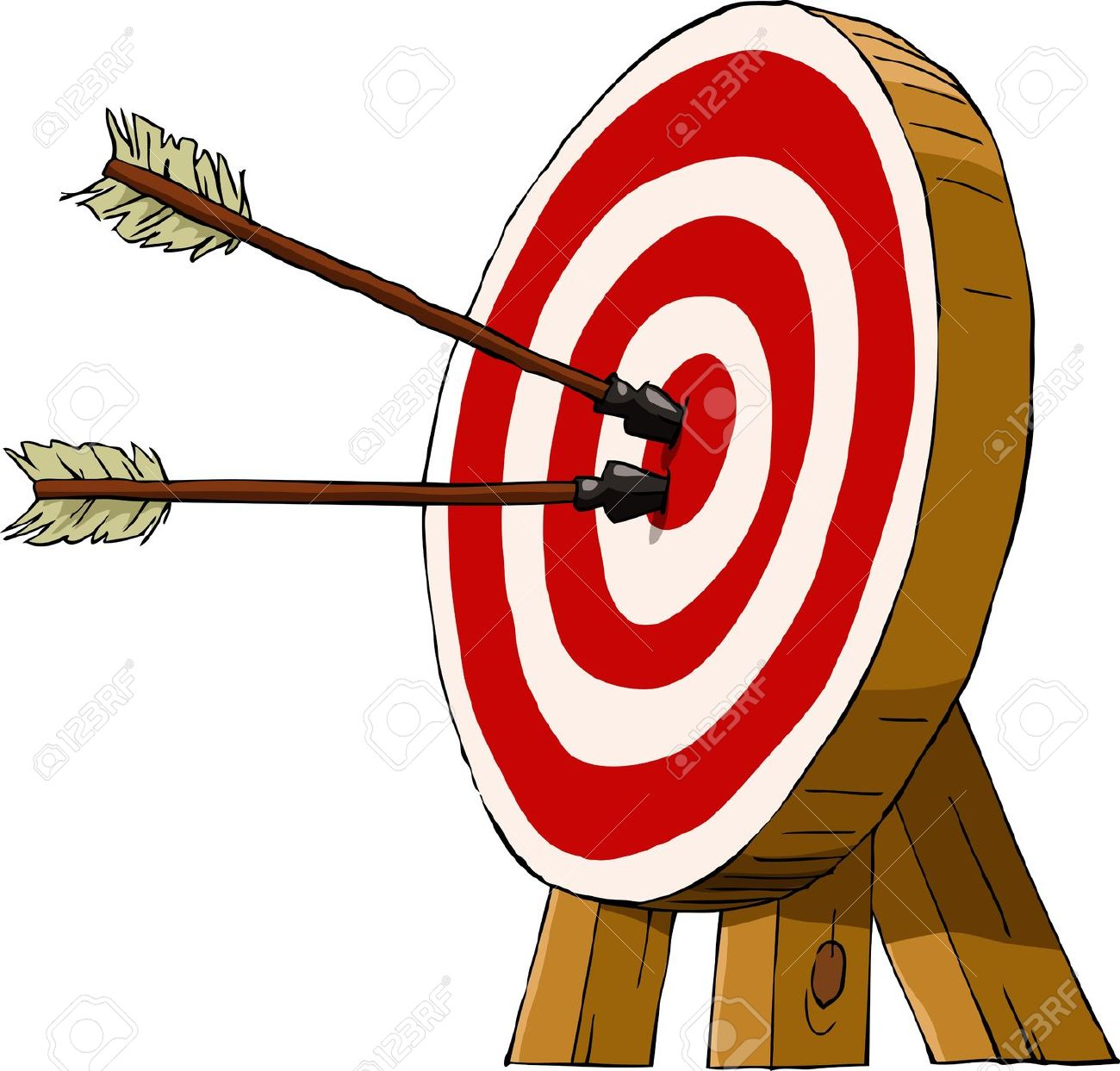 Bow and arrow target clipart. Clipartfest archery on a