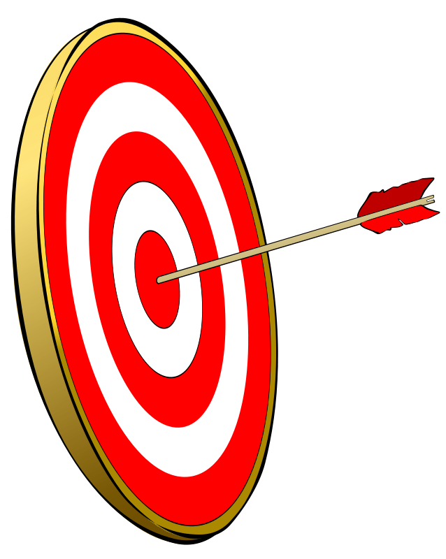 Bow and arrow target clipart. Clipartfest archery you can