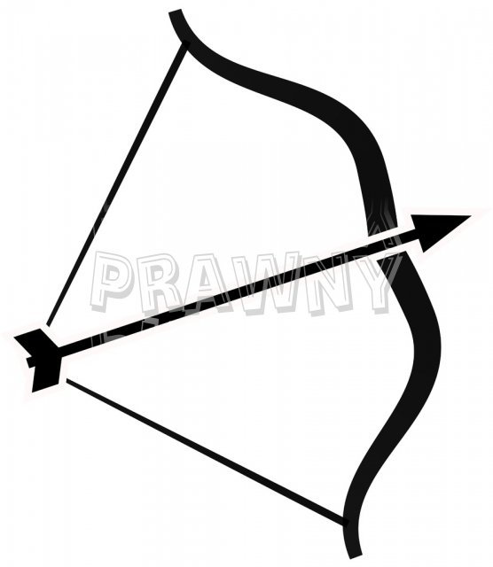 Bow arrow clip art graphic royalty free stock White bow arrow clipart - ClipartFest graphic royalty free stock