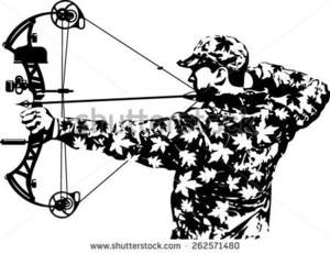 Bow hunting images clipart graphic library stock Free Bow Hunting Clipart   Free Images at Clker.com - vector clip ... graphic library stock
