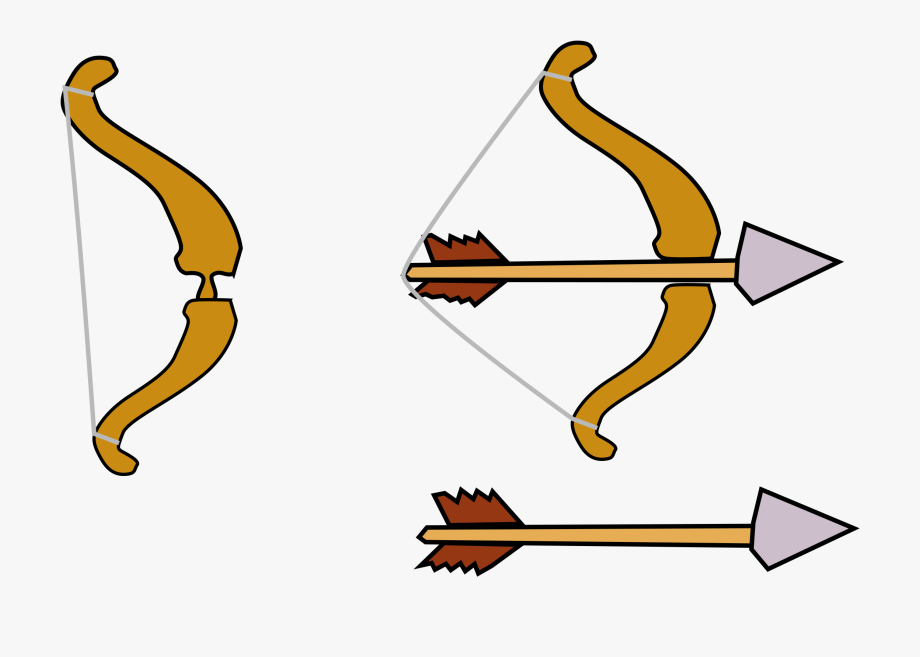 Bow pixelweapon cliparts jpg free Archery Arrow Bow Medieval Weapon - Bow And Arrow Clipart Png ... jpg free