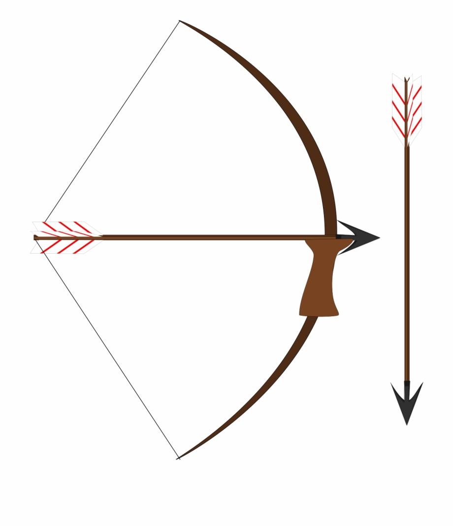 Bow pixelweapon cliparts vector free library Bow And Arrow Vector Clip Art - Bow And Arrow Robin Hood ... vector free library
