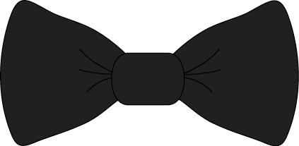 Bow with tails clipart black and white clipart free stock Pin by Sarah Jane Walker on Graphic Design | Black bow tie, Bows ... clipart free stock