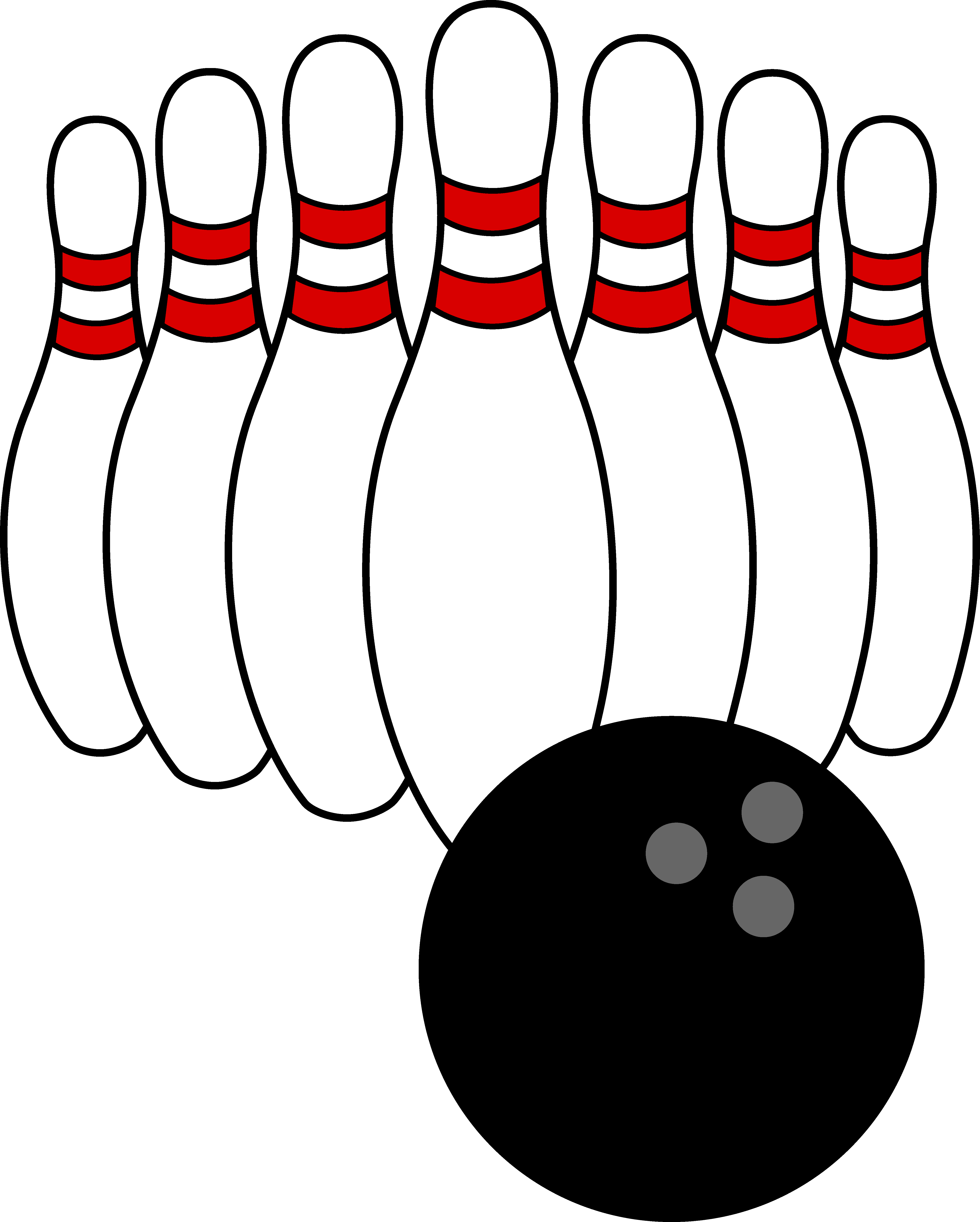 Boweling clipart png library stock Bowling Clip Art | Bowling Ball and Pins | BOWLING | Bowling ball ... png library stock