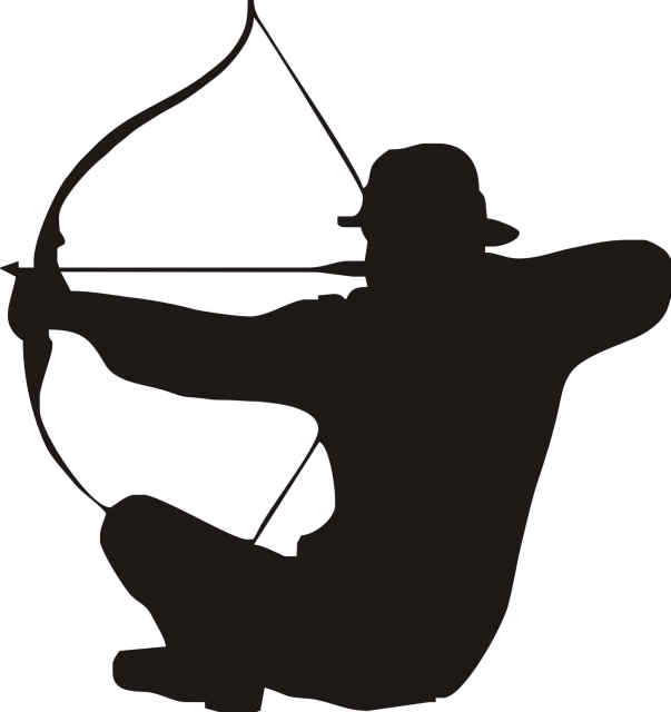 Bowhunter clipart graphic freeuse stock Free Bowhunting Arrow Cliparts, Download Free Clip Art, Free Clip ... graphic freeuse stock