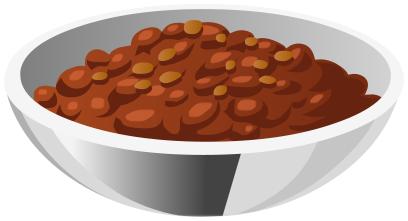 Bowl chili clipart svg black and white download Bowl of chili clipart » Clipart Station svg black and white download
