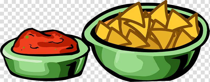 Bowl of chips clipart png picture royalty free Salsa Chips and dip Nachos Mexican cuisine Club Penguin, nachos ... picture royalty free