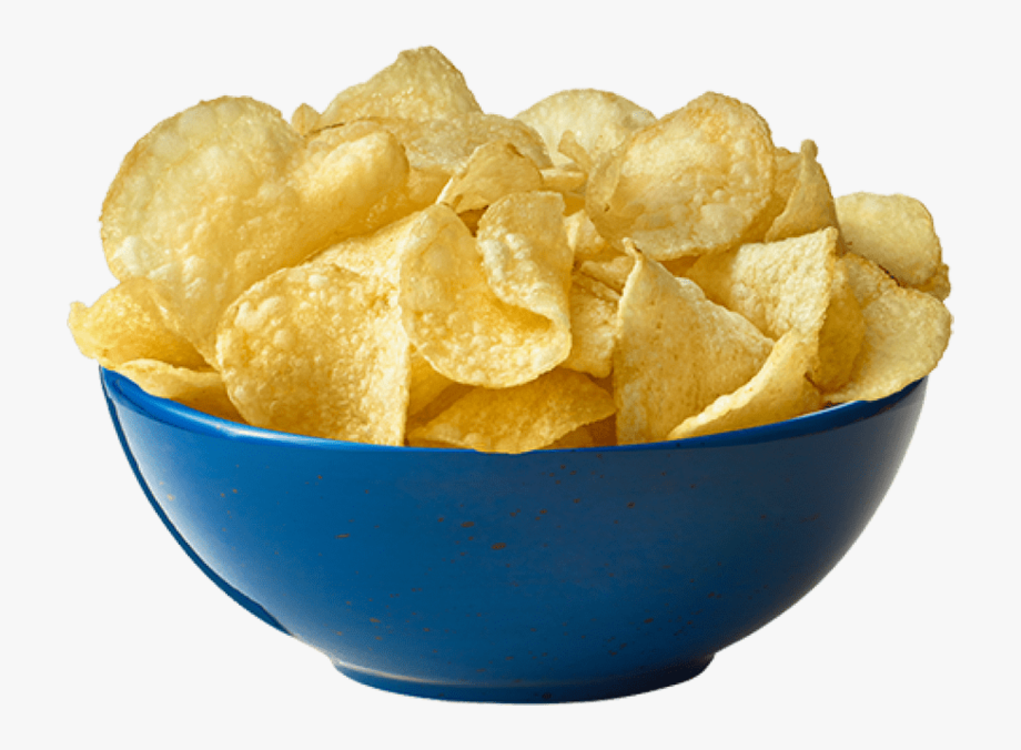 Bowl of chips clipart png vector download Potato Chips Png, Download Png Image With Transparent - Chips Png ... vector download