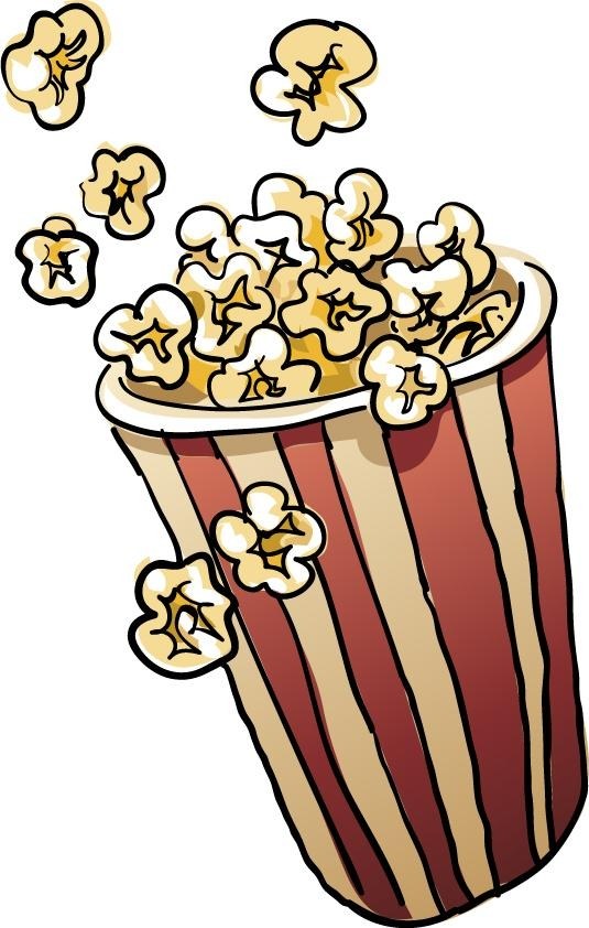 Bowl of popcorn clipart clip art royalty free Bowl of popcorn clipart - ClipartBarn clip art royalty free
