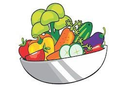 Bowl of vegetables clipart banner library stock Bowl of vegetables clipart 3 » Clipart Portal banner library stock