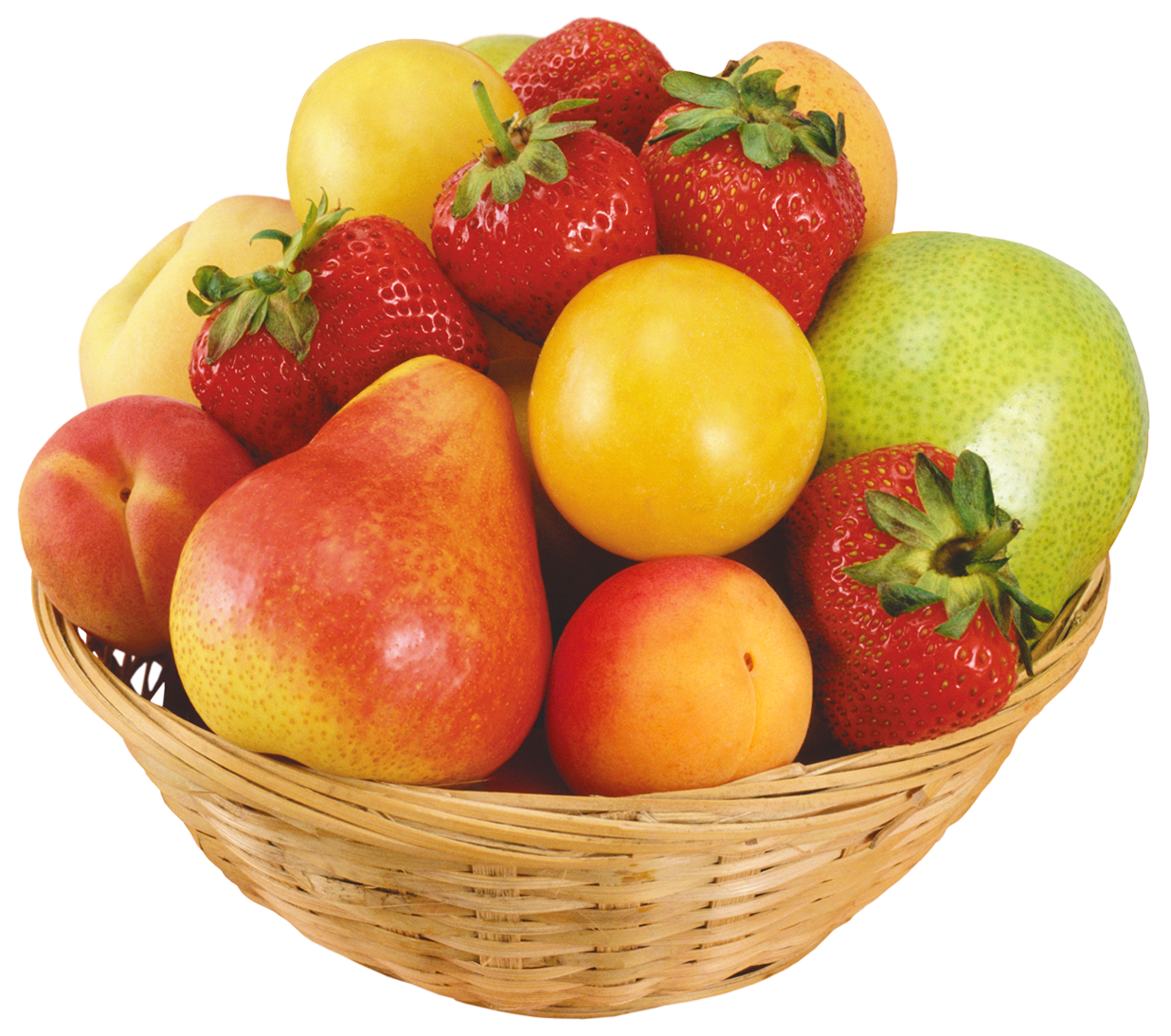 Bowl with money under it clipart graphic free download Fruits in Wicker Bowl PNG Clipart - Best WEB Clipart graphic free download