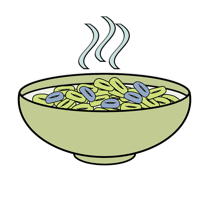 Free photo Food Cereal Breakfast Cartoon Bowl Clipart - Max Pixel image freeuse