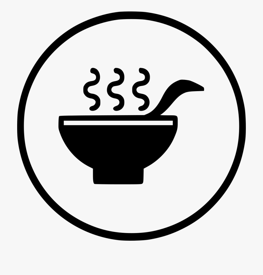 Bowl with spoon clipart image transparent download Image Drink Healthy Hot Bowl Spoon Png Icon - Black And White Spoon ... image transparent download