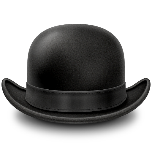 Bowler hat free clipart clip art freeuse Free Bowler Hat Cliparts, Download Free Clip Art, Free Clip Art on ... clip art freeuse