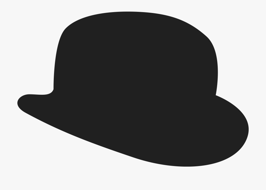 Bowler hat free clipart