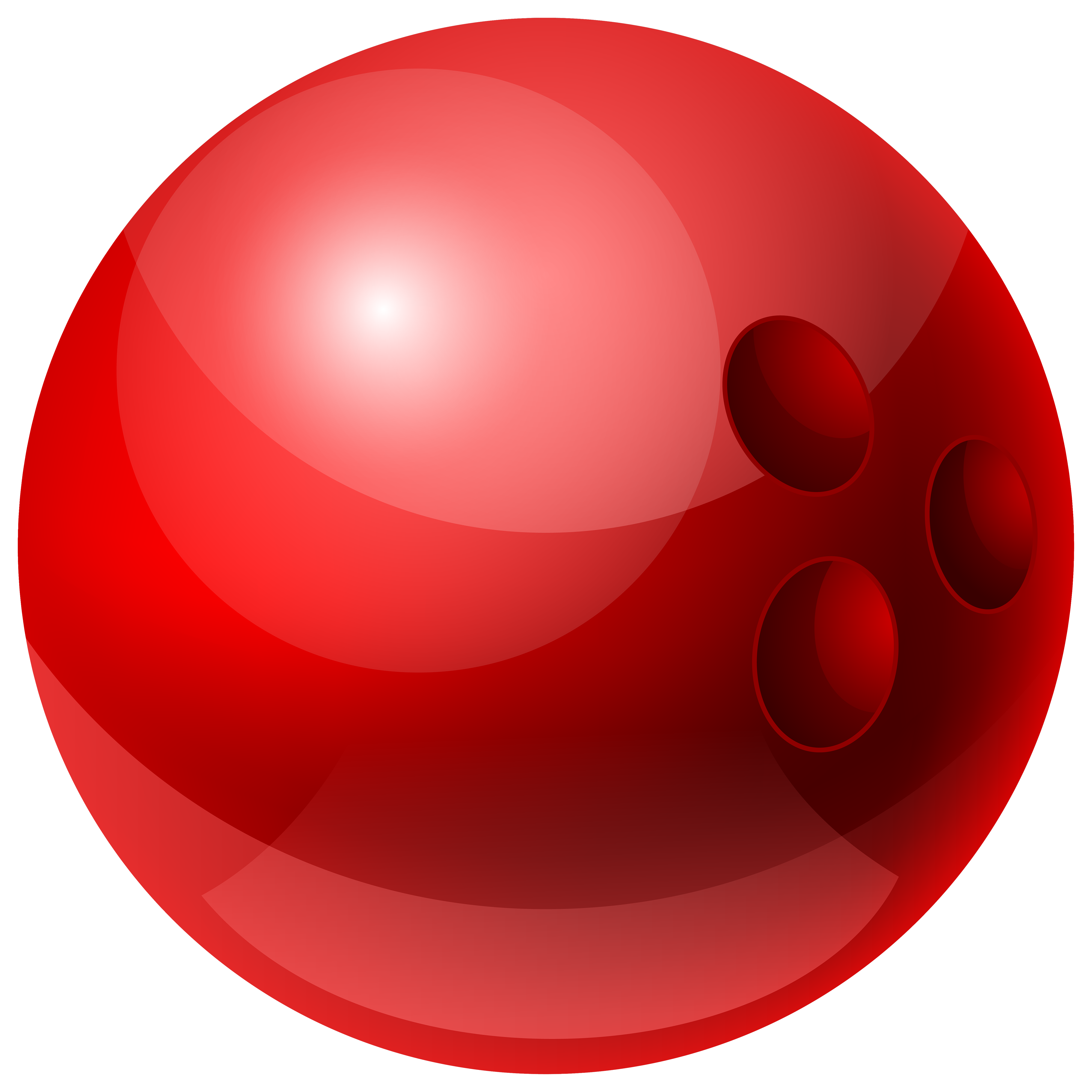 Bowls of marbles clipart transparent library Red Bowling Ball PNG Clipart - Best WEB Clipart transparent library