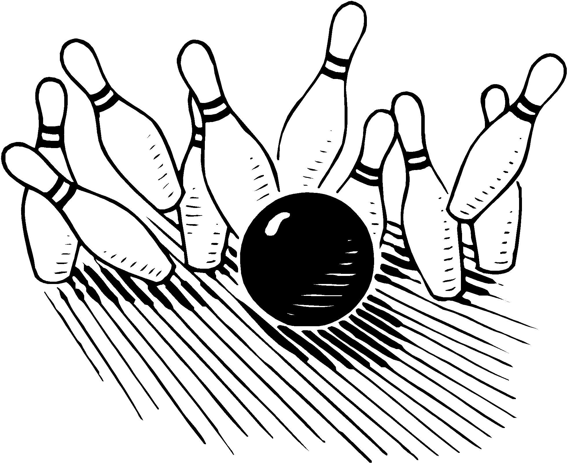 Bowling ball with flames and pins clipart black and white freeuse download Bowling clipart clipart cliparts for you | Bowling | Bowling outfit ... freeuse download