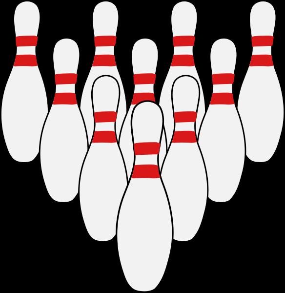 Bowling cross pins clipart clip free Bowling Pins Clipart - clipart clip free