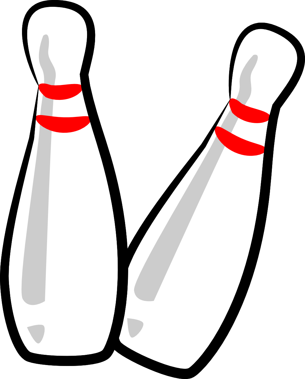 Bowling pin wearing crown clipart banner download 28+ Collection of Bowling Pin Clipart Images | High quality, free ... banner download