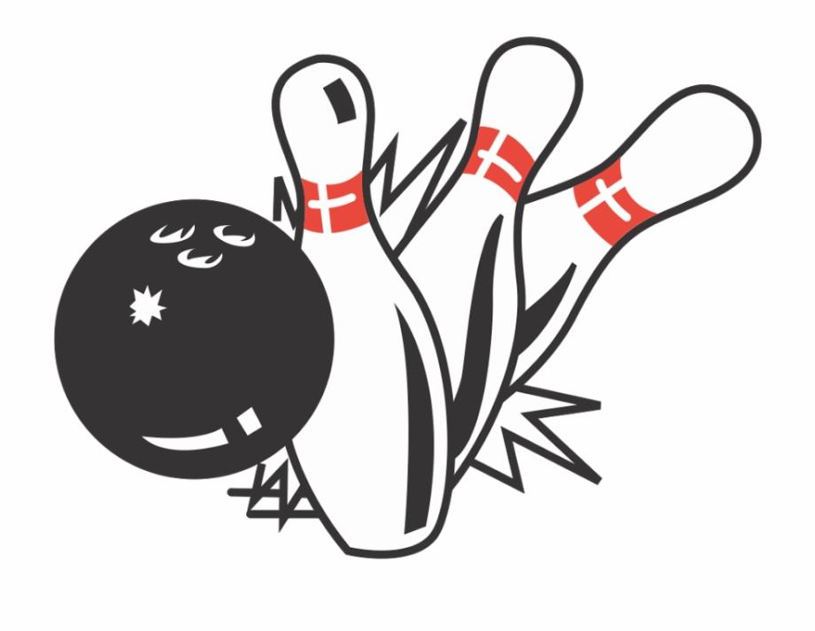 Bowling logo clipart clip art freeuse download Bowling Pins Logo - Bowling Ball And Pins Illustration Free PNG ... clip art freeuse download