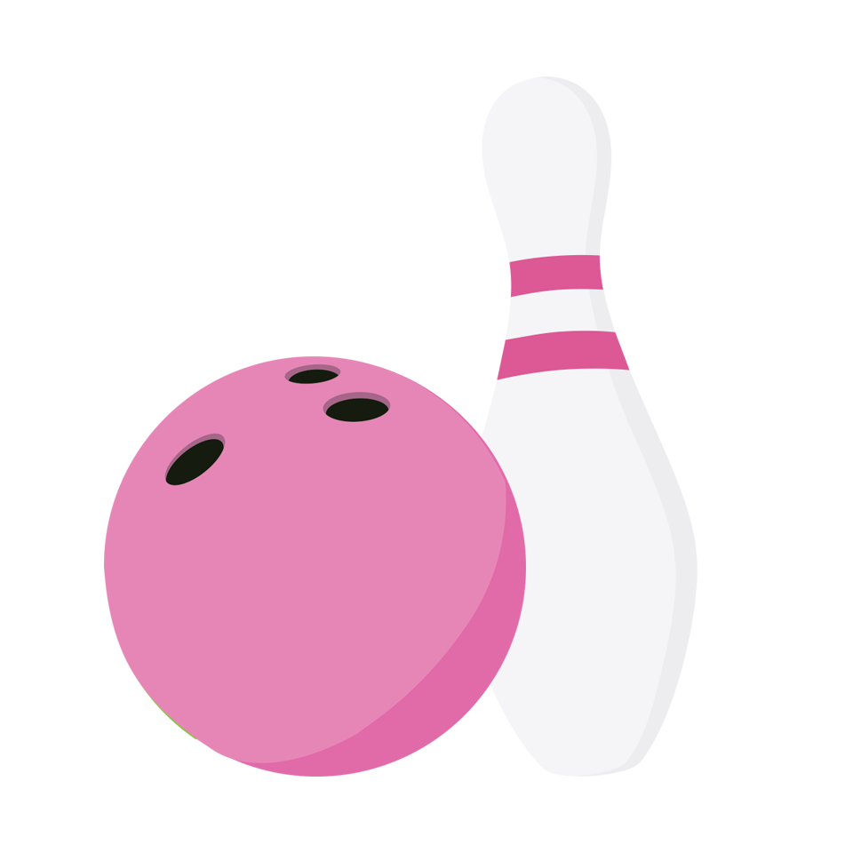 Bowling pin wearing crown clipart library 28+ Collection of Pink Bowling Pin Clipart | High quality, free ... library