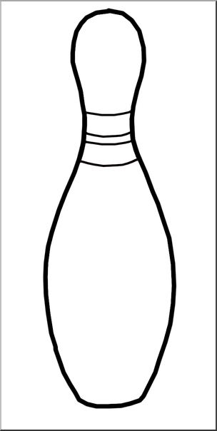 Bowling pins clipart black and white vector royalty free stock Bowling Pins Clipart Black And White HashTag Bg Best Clip Art Casual ... vector royalty free stock